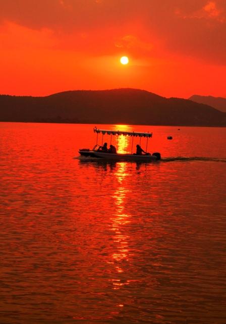 boat in the sun 2